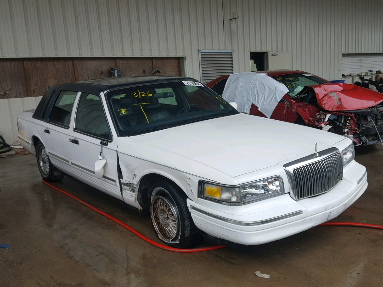 used car sale town rwd sedan signature for lincoln