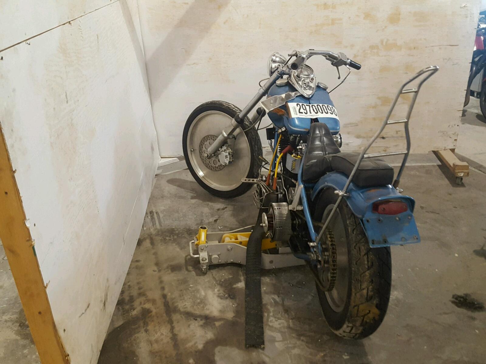 1978 Harley-Davidson Shovelhead - Frame Damage Damage - 2A95642H8 (Sold)