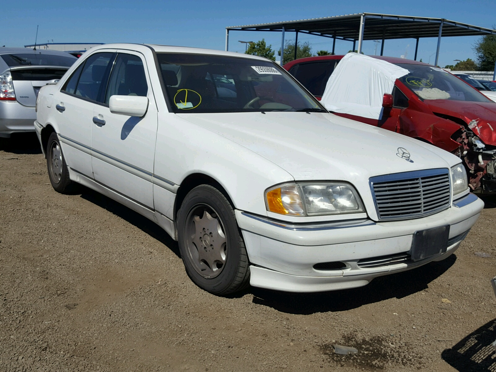 2000 Mercedes Benz C 230 for sale at Copart San Diego CA Lot