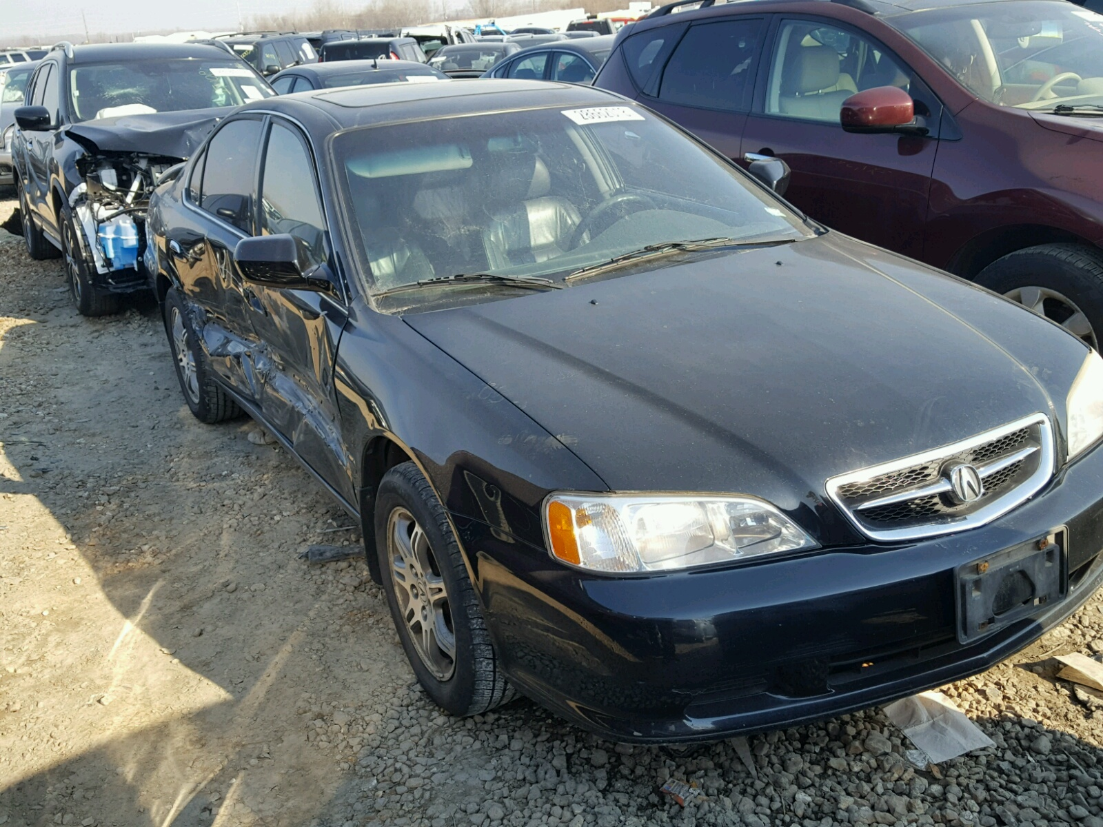 co salvage south denver on auto carfinder title lot auctions tl gray acura online right sale en view in for copart