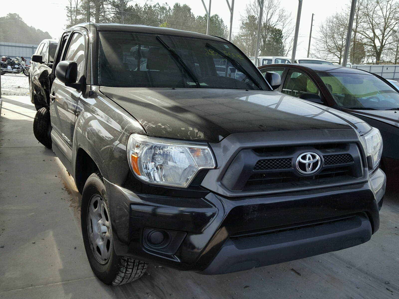 Salvaged toyota tacoma for auction autobidmaster 2013 toyota tacoma acc 27l pooptronica Choice Image