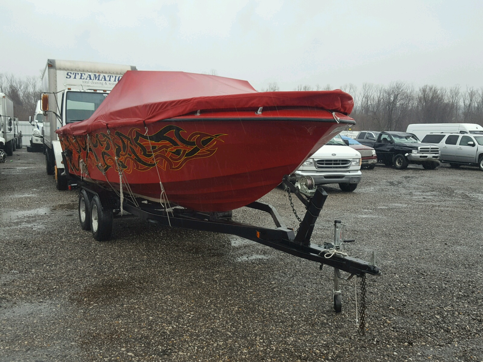 Salvage 1979 Renk MARINE TRAILER for sale