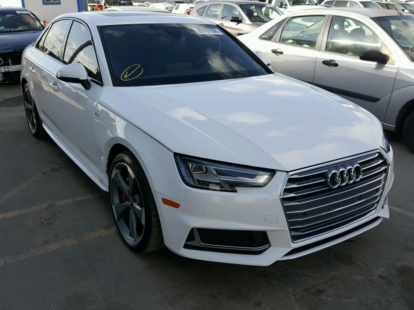 2018 Audi S4 Premium for sale at Copart Los Angeles, CA Lot# 29107968