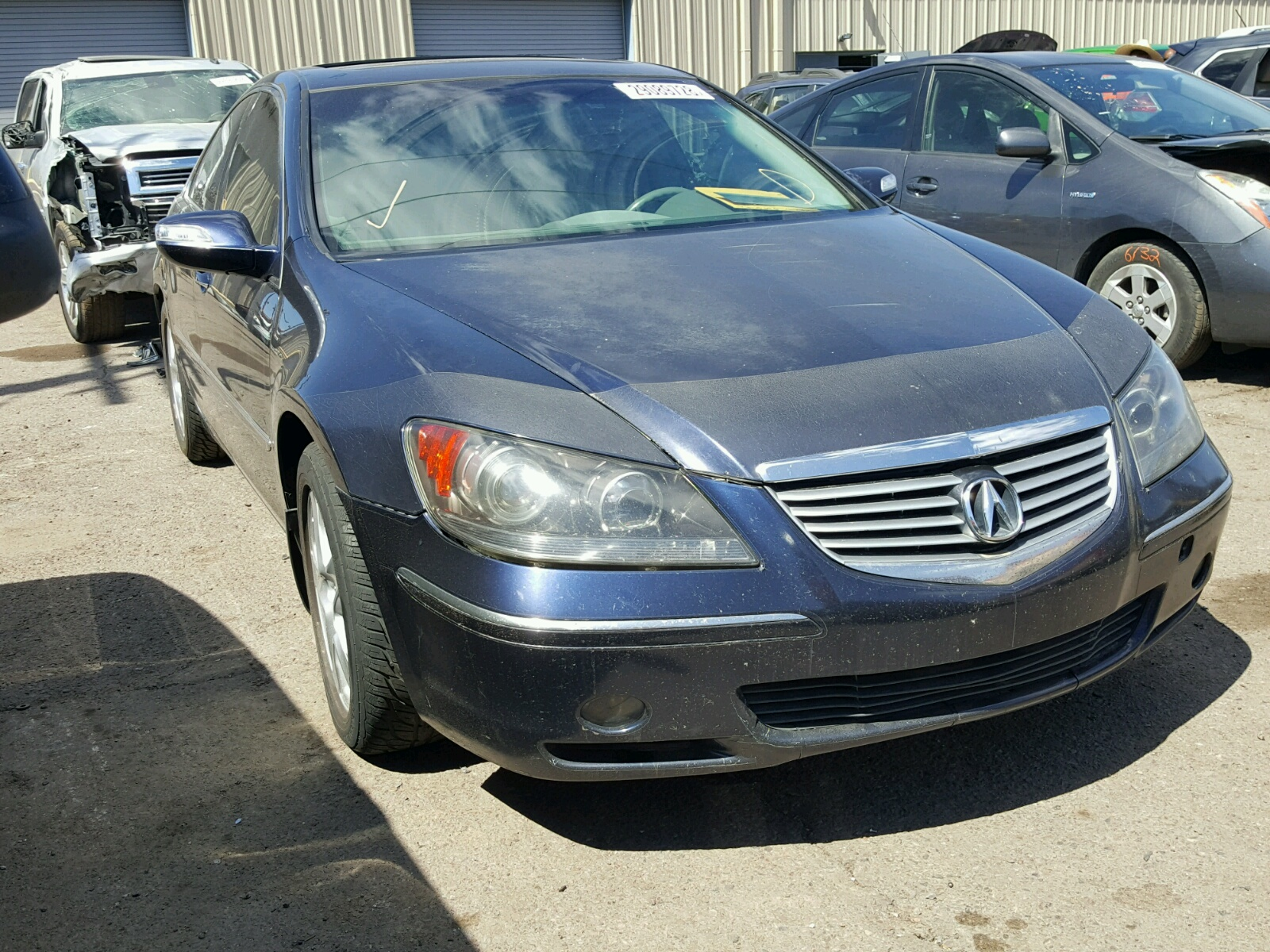 JHKBC RED ACURA RL On Sale In AZ PHOENIX Lot - 2005 acura rl front grill