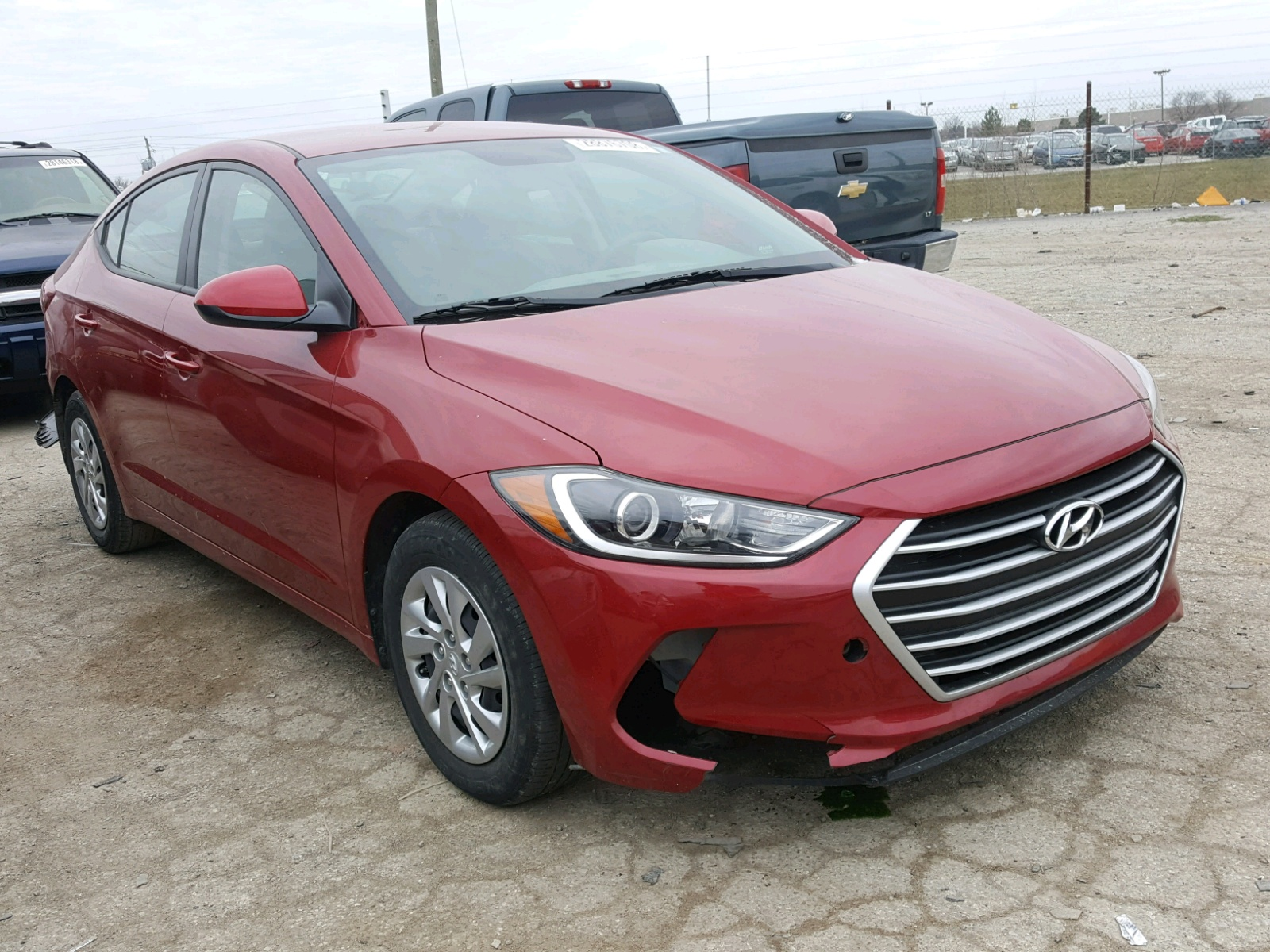 se on sale title lot salvage indianapolis hyundai white view copart online in auto sonata en carfinder auctions of cert left