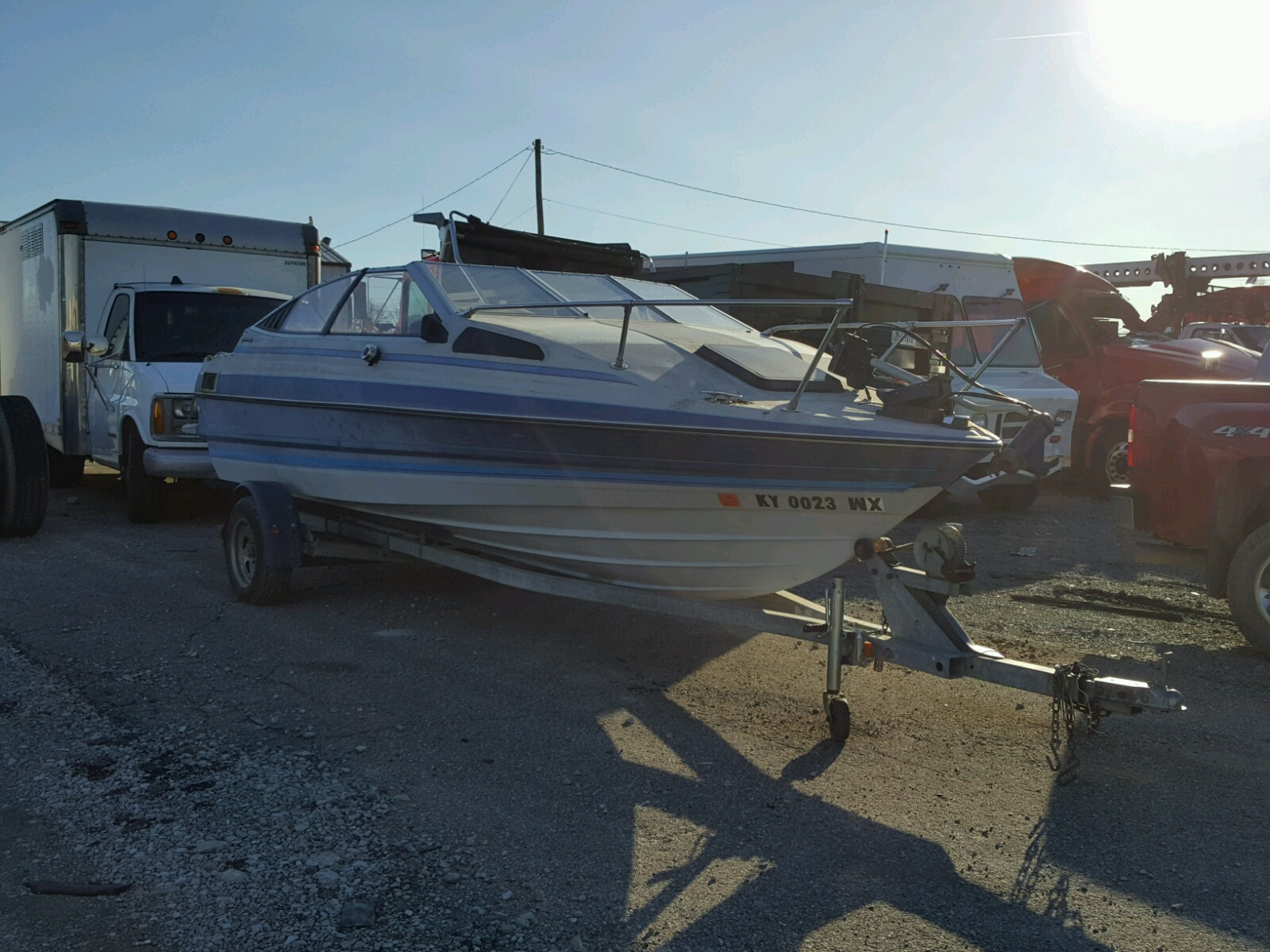 Salvage 1998 Cobp BAYLINER for sale