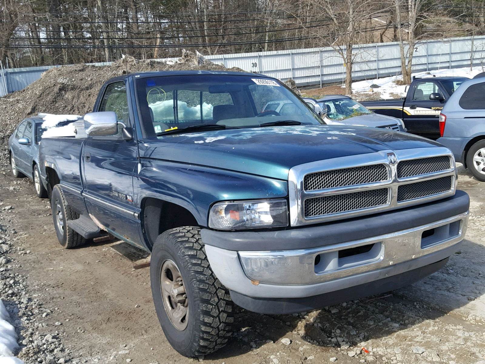 pickup ram cab ext truck image dodge auction sol item for