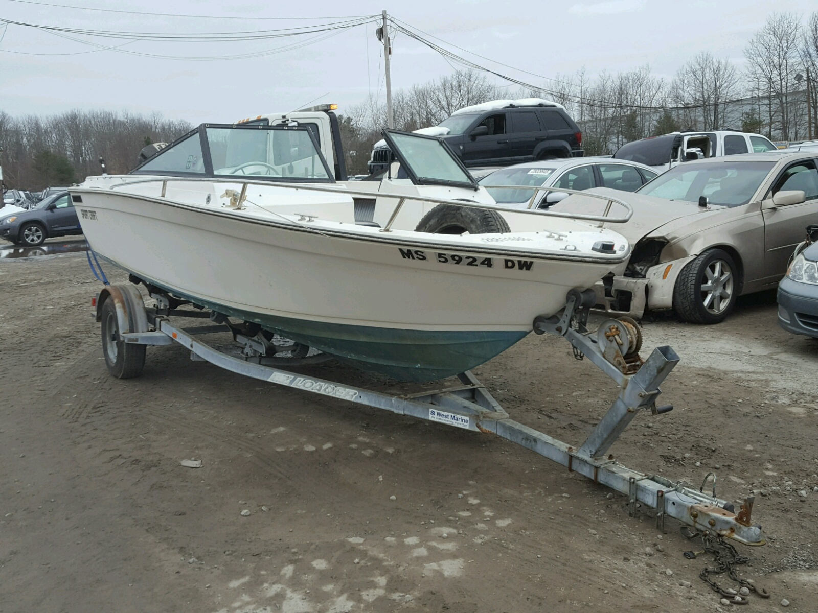 Salvage 1986 Seacat SPORTS CRA for sale