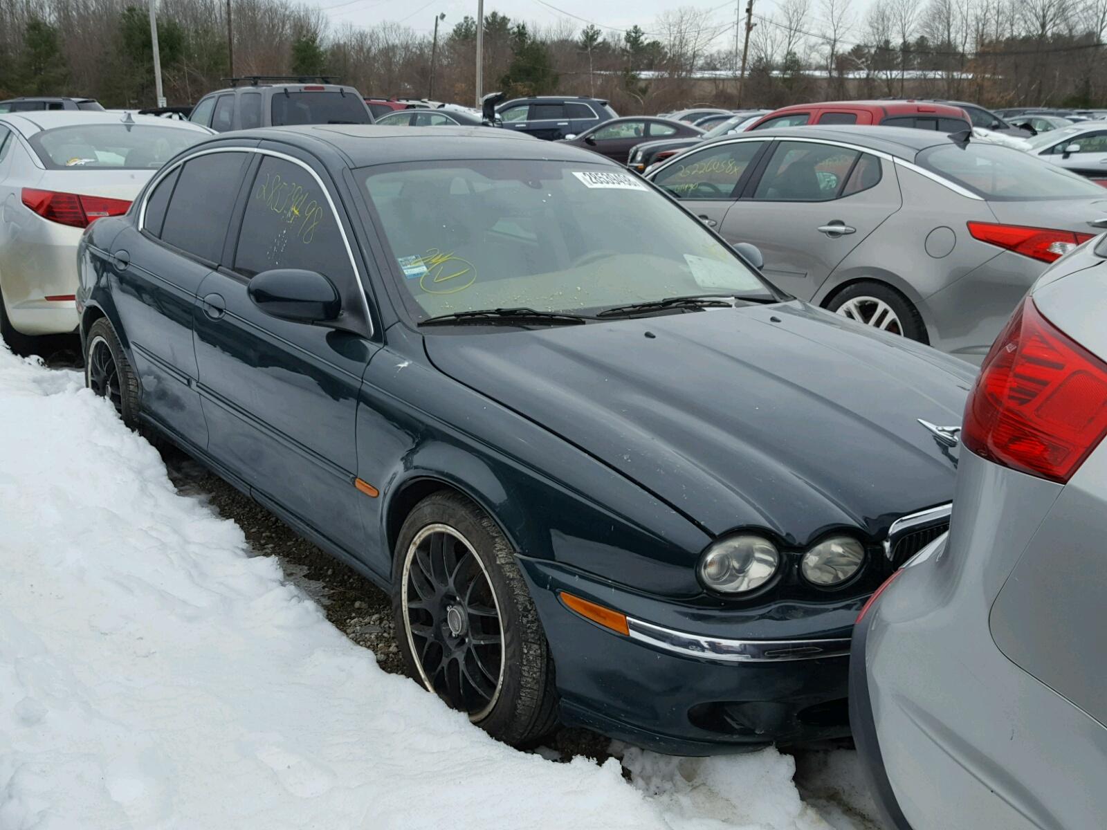 2003 Jaguar X Type 25 Normal Wear Damage Sajea51d73xc89007 Sold 1