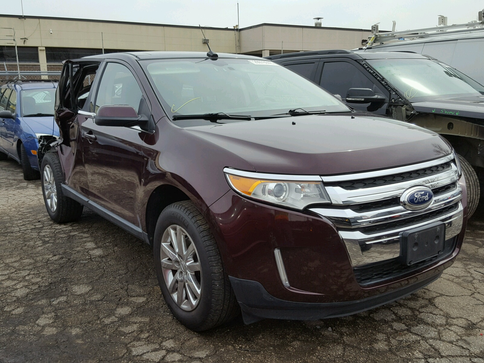2011 Ford Edge Limited for sale at Copart Wheeling IL Lot