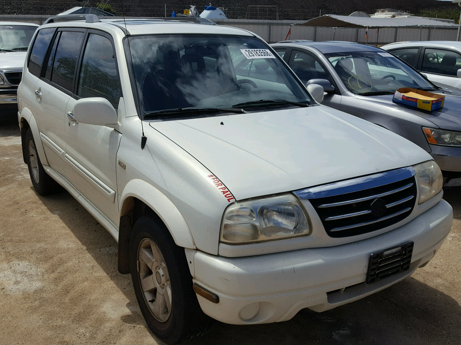 Auto Auction Ended on VIN: JS3TY92V714103866 2001 SUZUKI GRAND ...