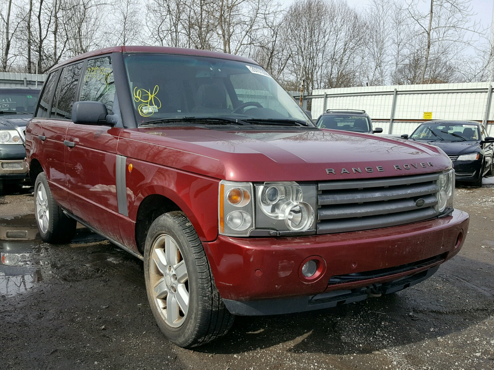 2004 Land Rover Range Rover for sale at Copart North Billerica MA
