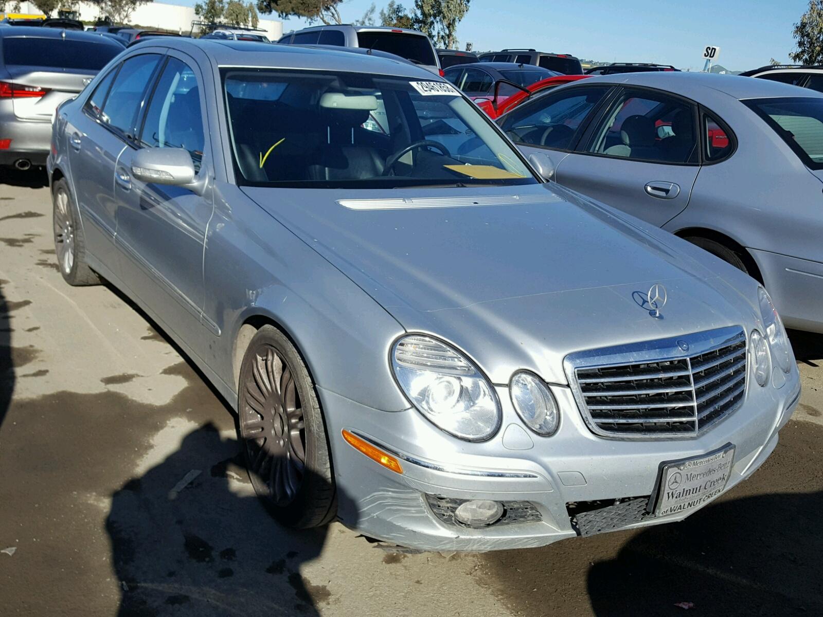 2007 Mercedes Benz E 350 Side Damage WDBUF56X17B Sold