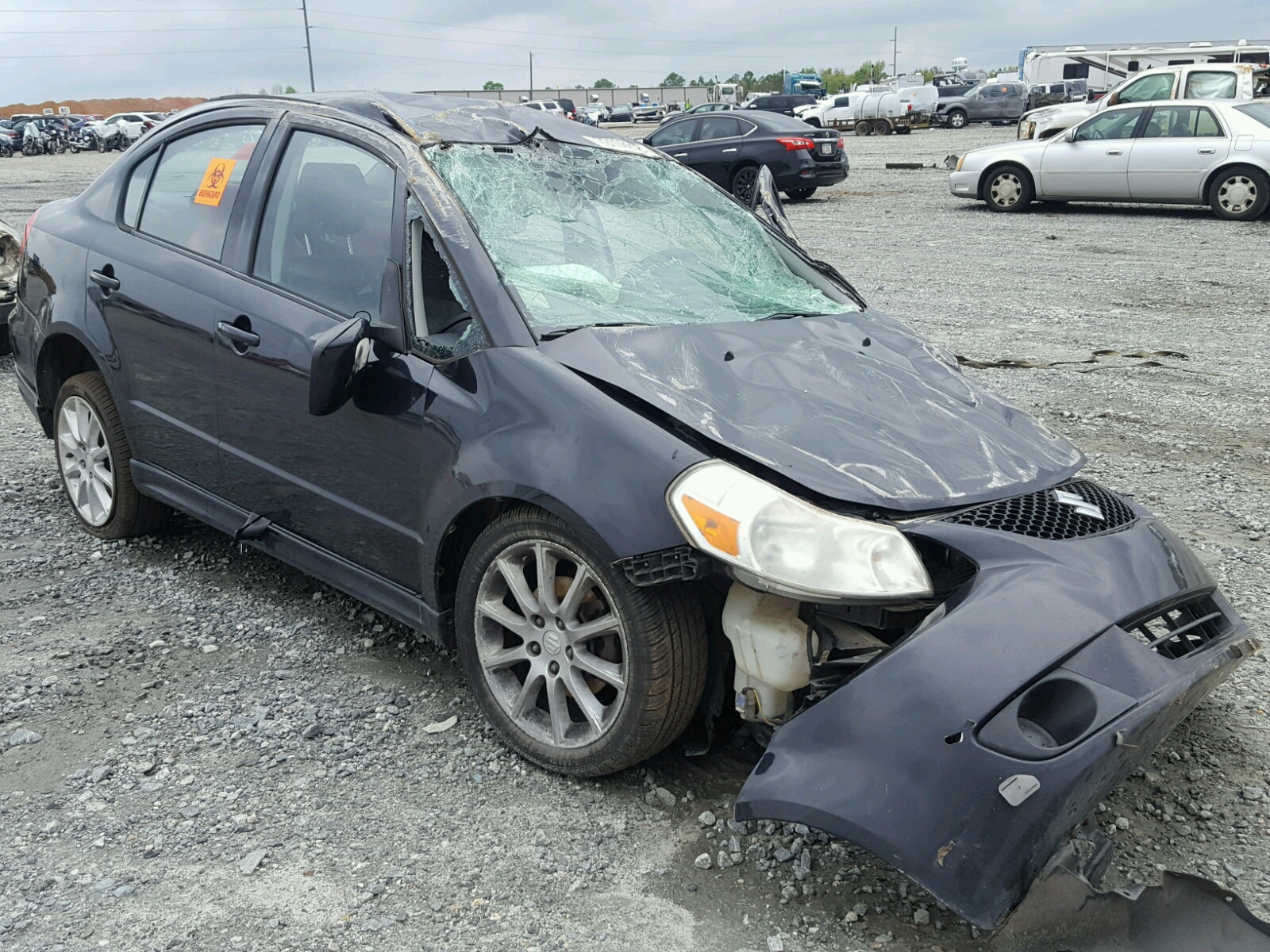 click here to view 2008 SUZUKI SX4 CONVEN at IBIDSAFELY