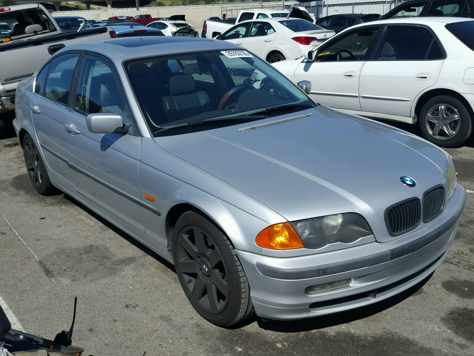 Auto Auction Ended On Vin Wbaam3341yfp74501 2000 Bmw 323i In Ny Long Island