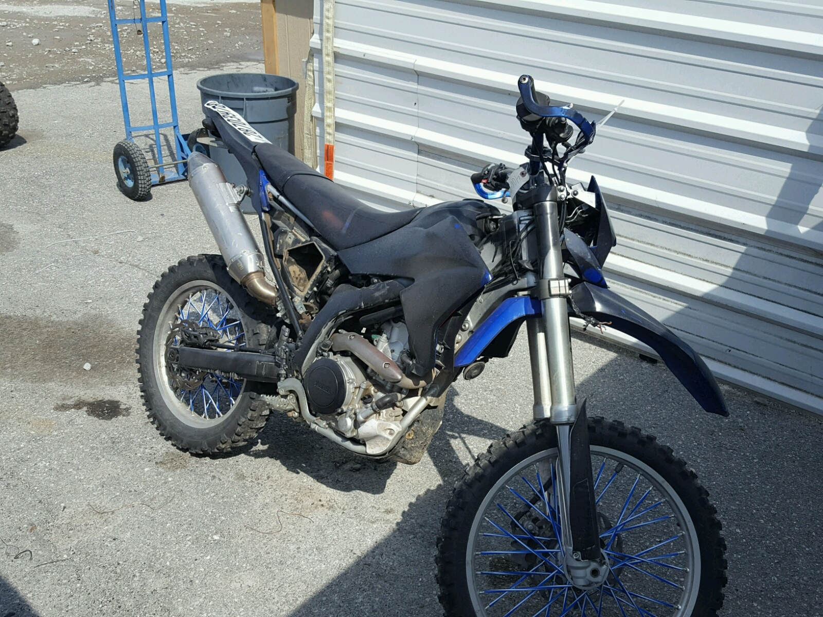 2008 YAMAHA WR250 R 1