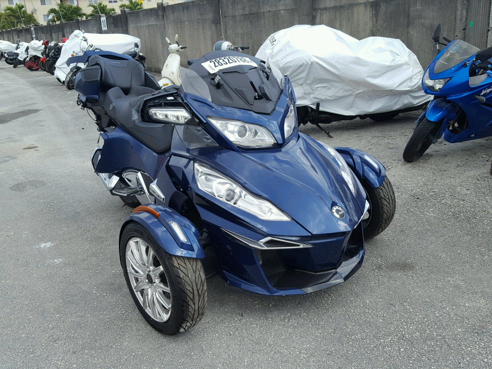 2017 Can Am Spyder ROA for sale at Copart Miami FL Lot