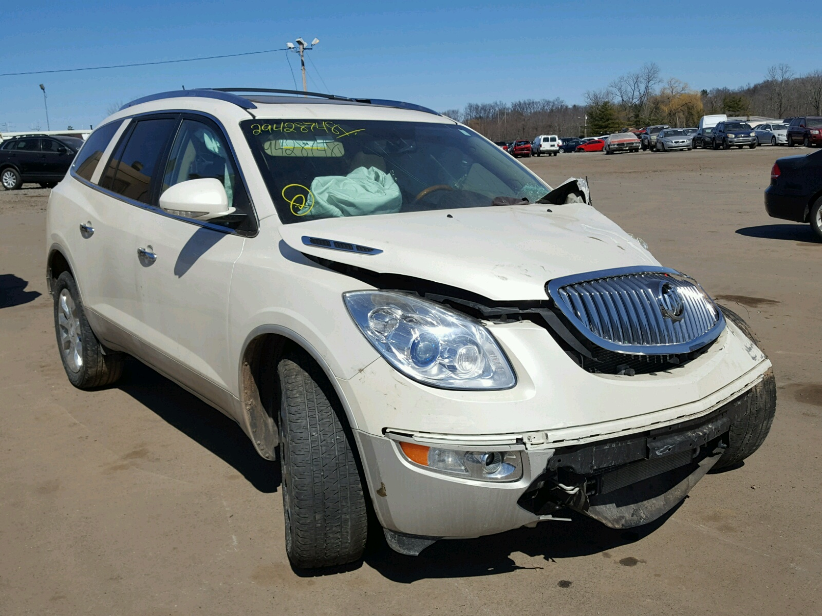 5gakvcedxbj282668 2011 white buick enclave cx on sale in ct 5gakvcedxbj282668 2011 buick enclave cx 36l left view publicscrutiny Images