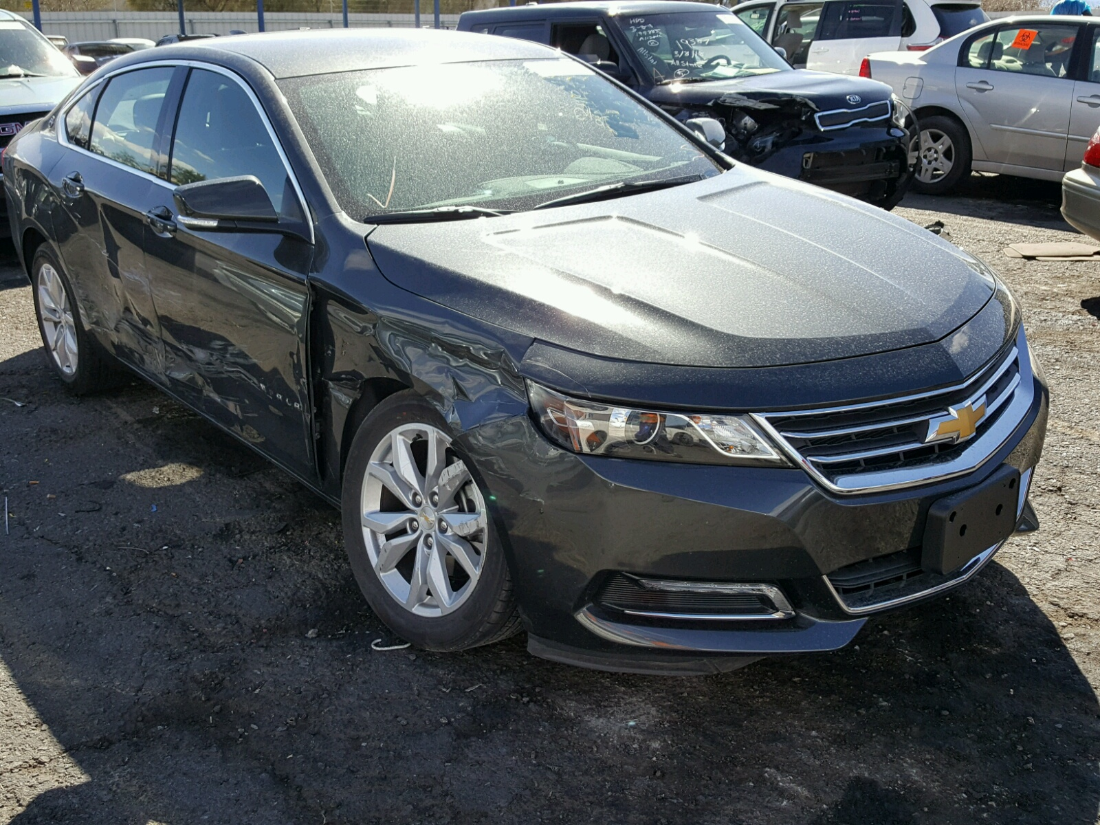 Auto Auction Ended on VIN 2G1105S35J 2018 CHEVROLET IMPALA