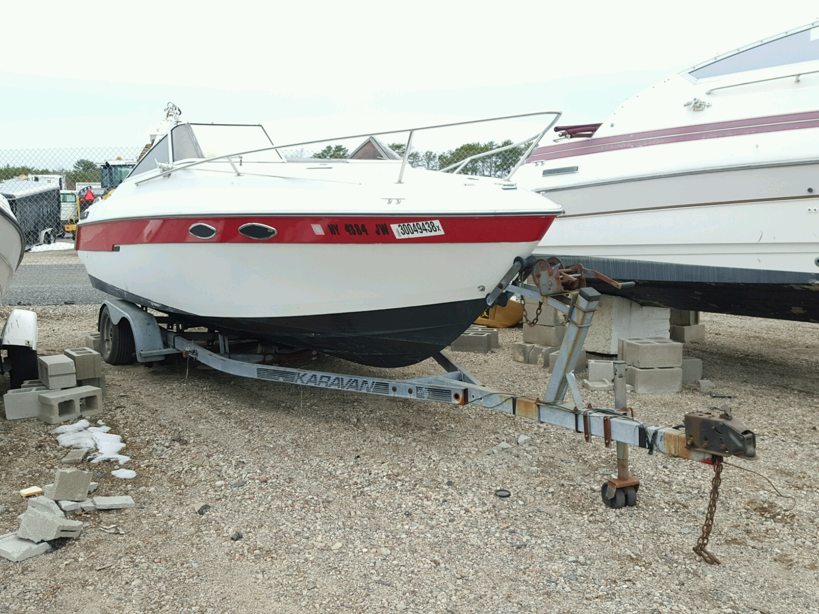 Salvage 1988 Donzi BOAT for sale