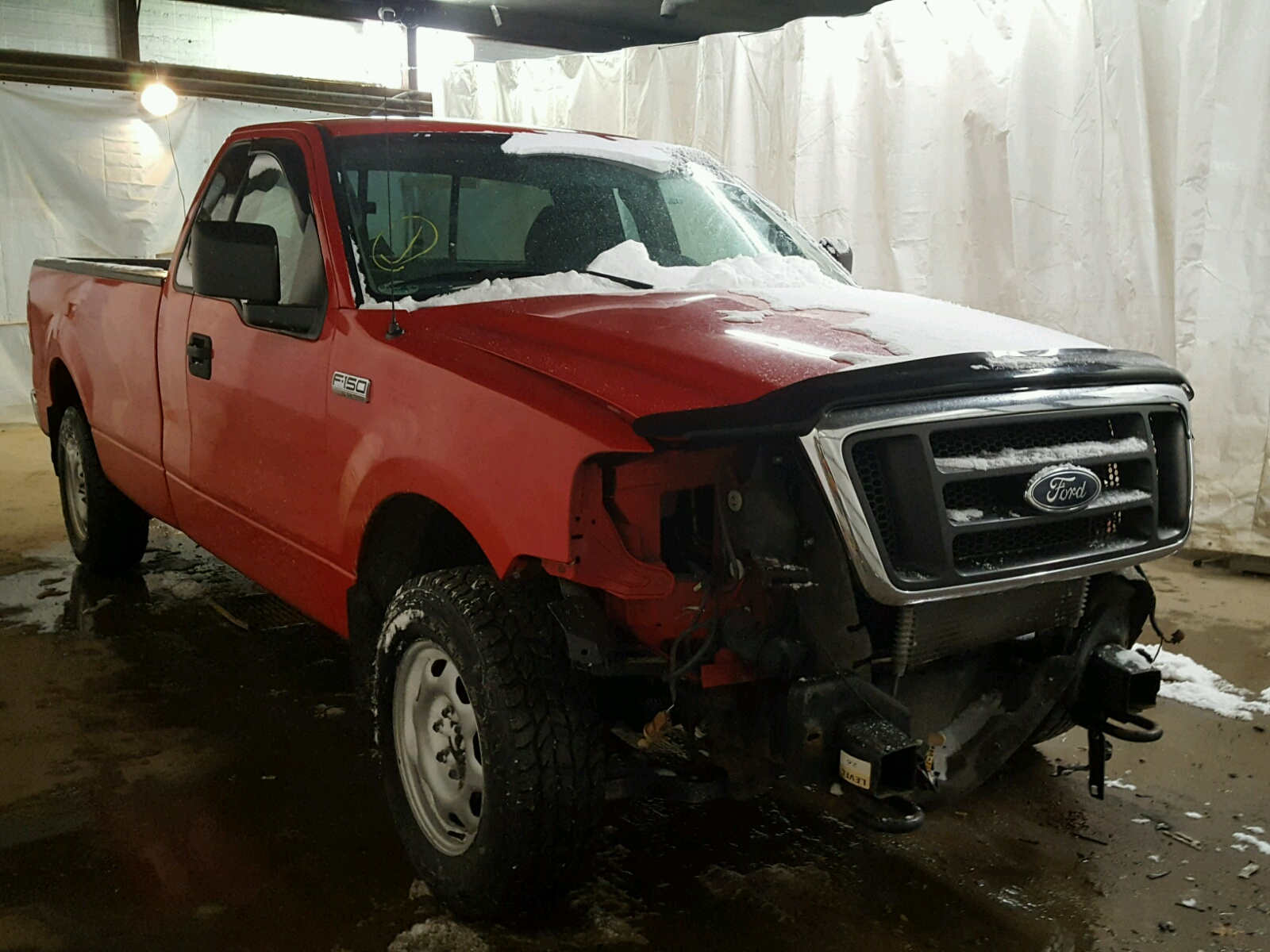 1FTRF145X4NC 2004 RED FORD F150 on Sale in PA ALTOONA