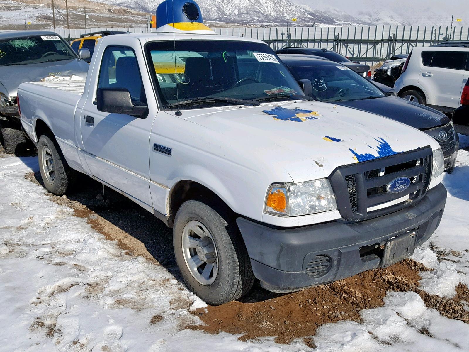 1FTKR1AD0BPA57346 - 2011 Ford Ranger 2.3L Left View