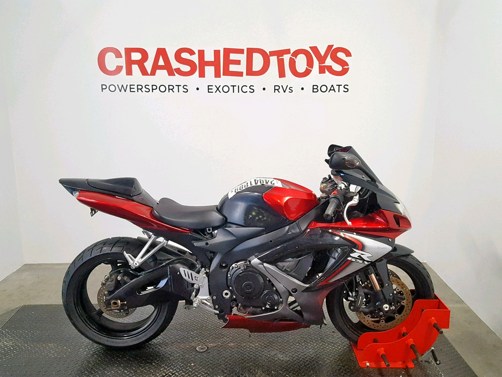 Salvage 2007 Suzuki GSX-R750 for sale