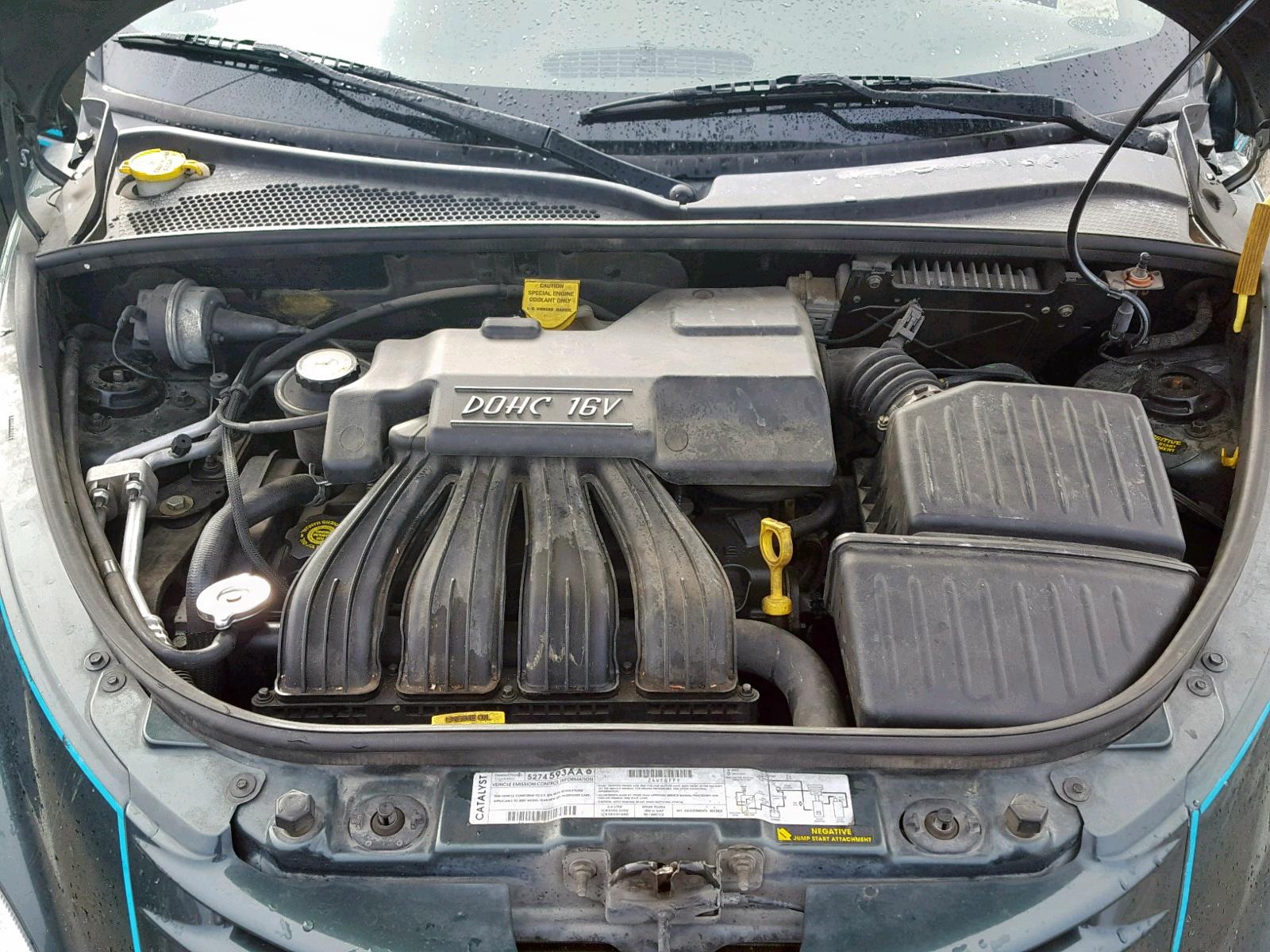 3c8fy4bb11t555227 2001 Chrysler Pt Cruiser 2 4l Inside View