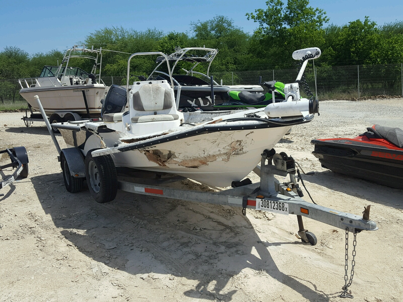 Salvage 2002 Nitrous 17 NX BASS for sale