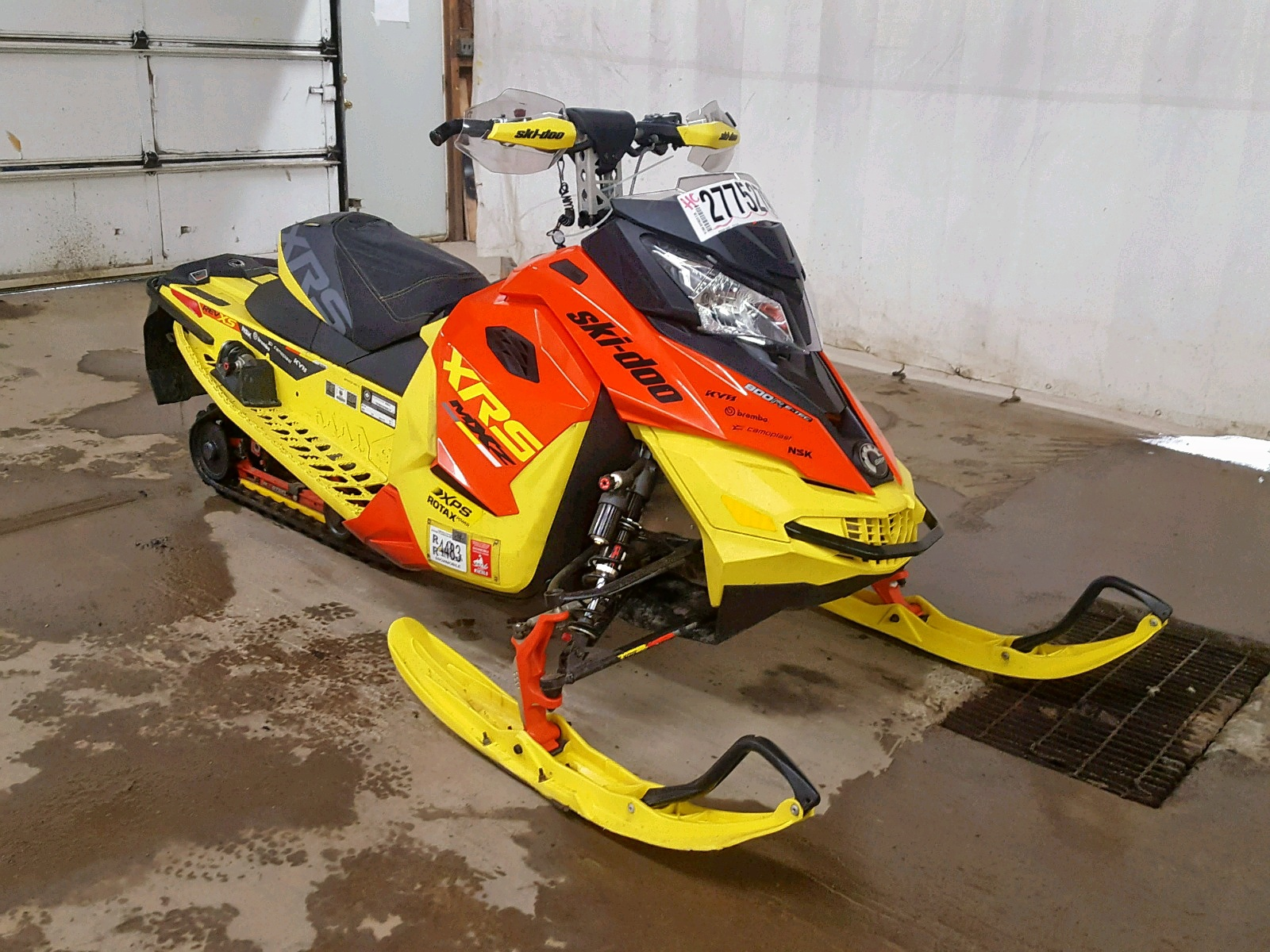 Salvage 2015 Skidoo XRS 800R for sale