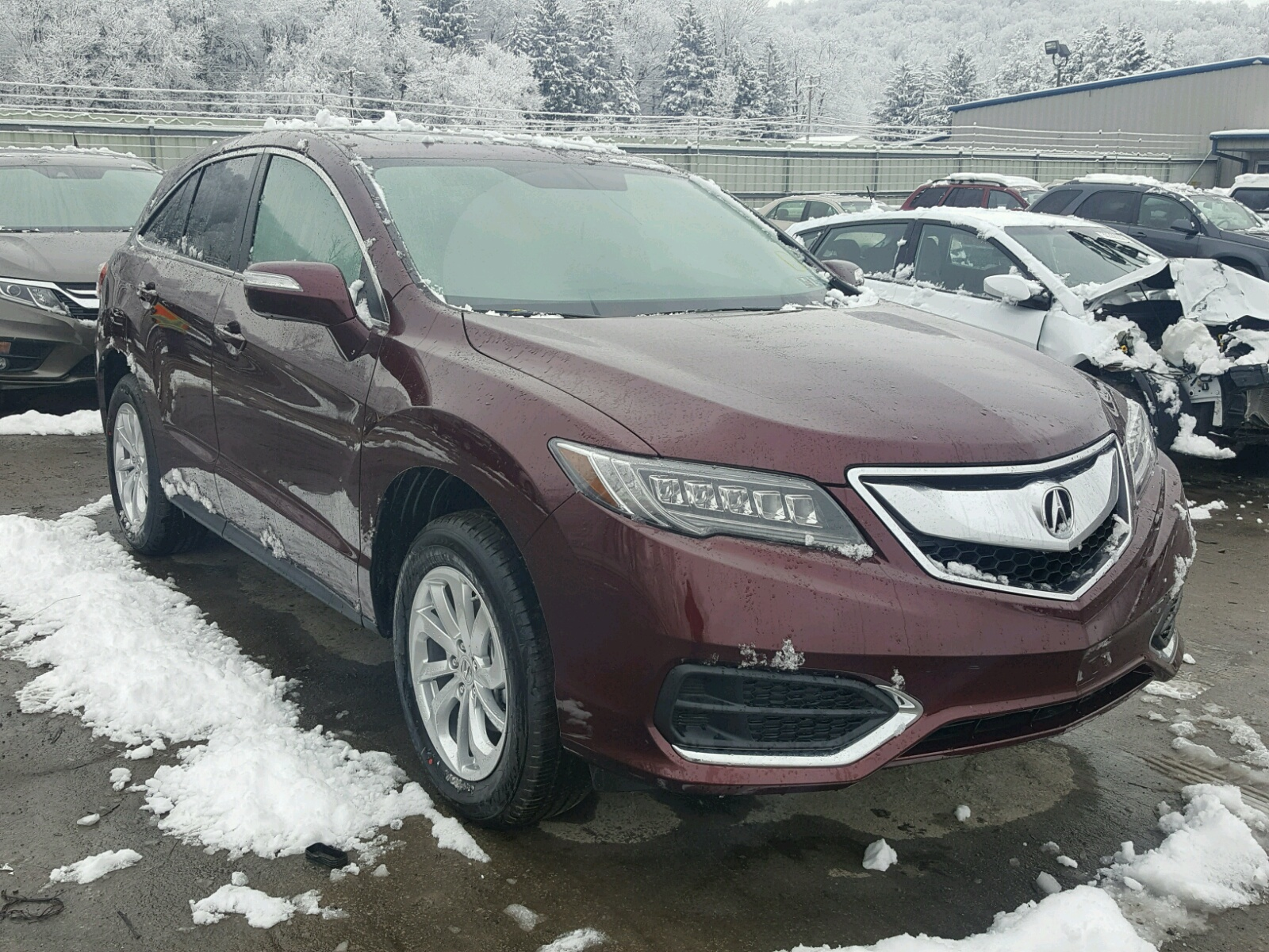 for left carfinder en lot sale online auto in of on certificate rdx dc md title view copart acura silver auctions washington