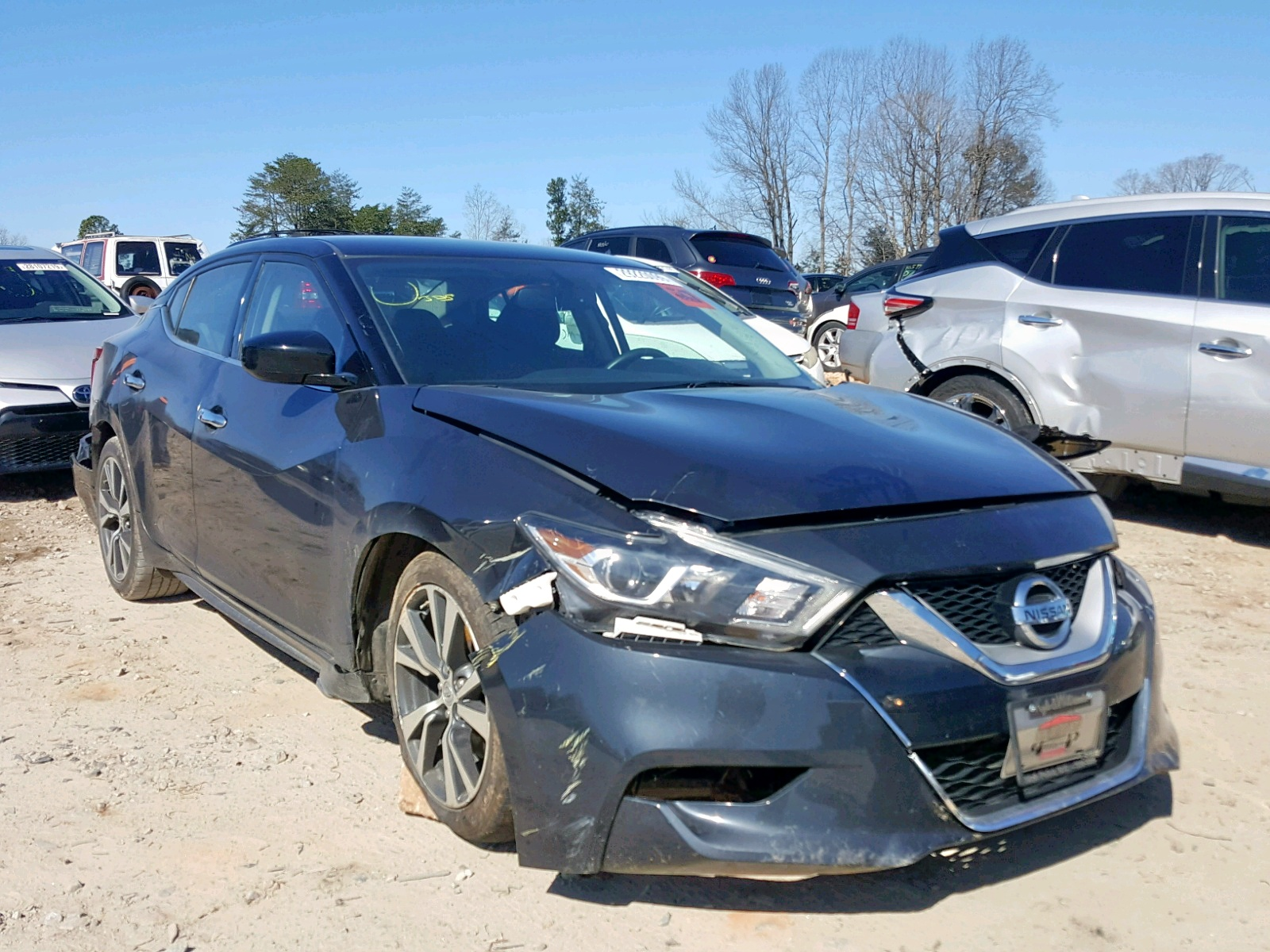 Salvage 2016 Nissan MAXIMA 3.5 for sale