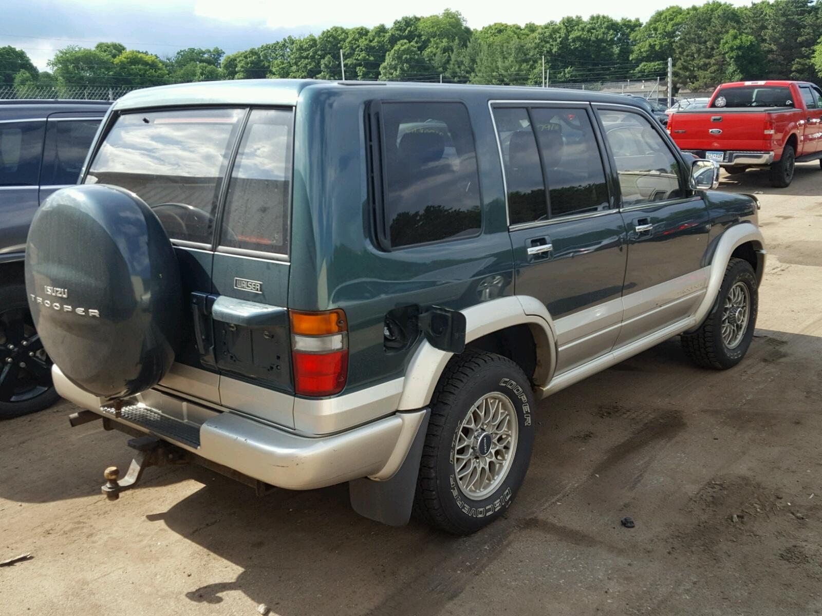 1998 Isuzu Trooper S Lot # 36791608