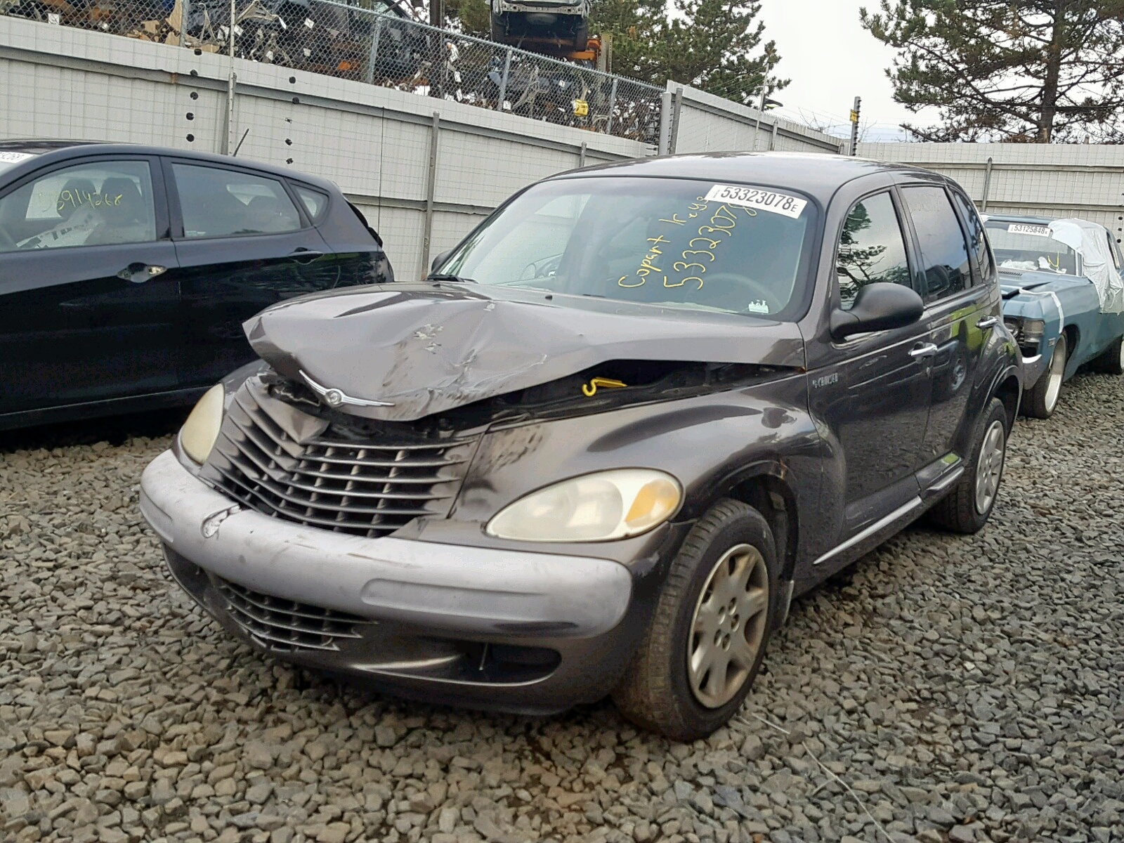 2001 Chrysler Pt Cruiser 2 4l Right View