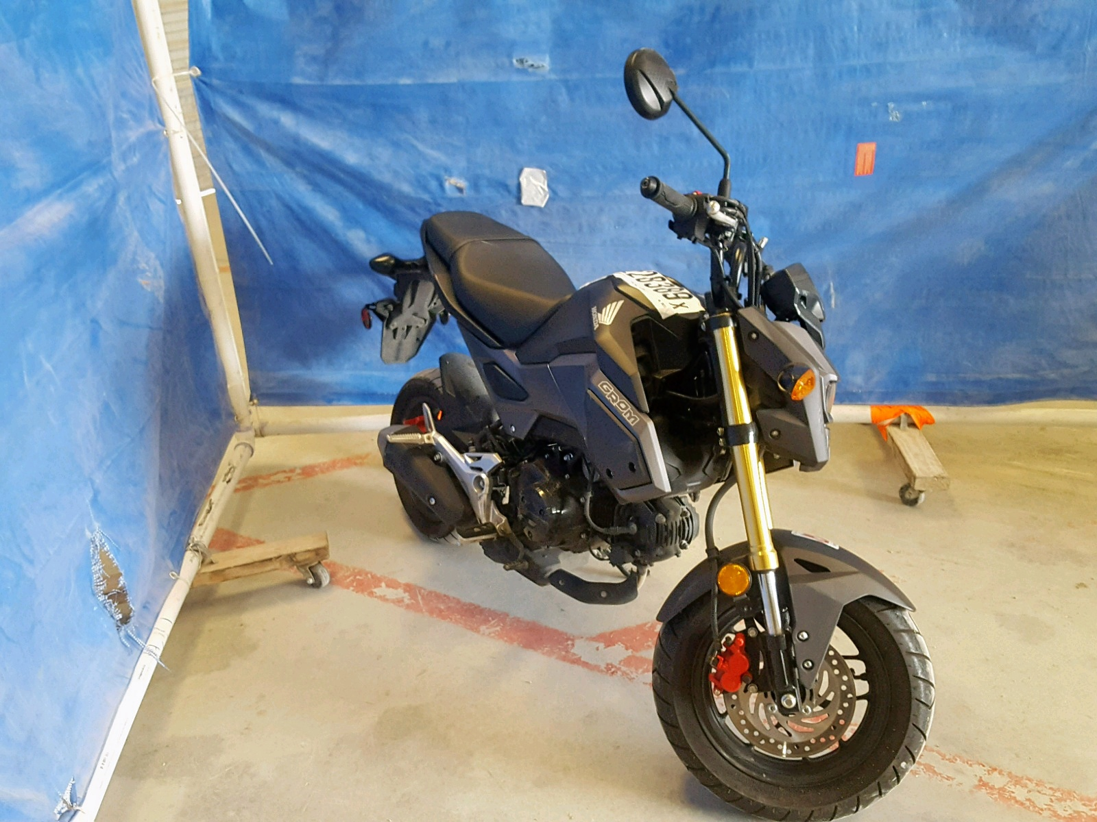 Salvage 2017 Honda GROM 125 for sale