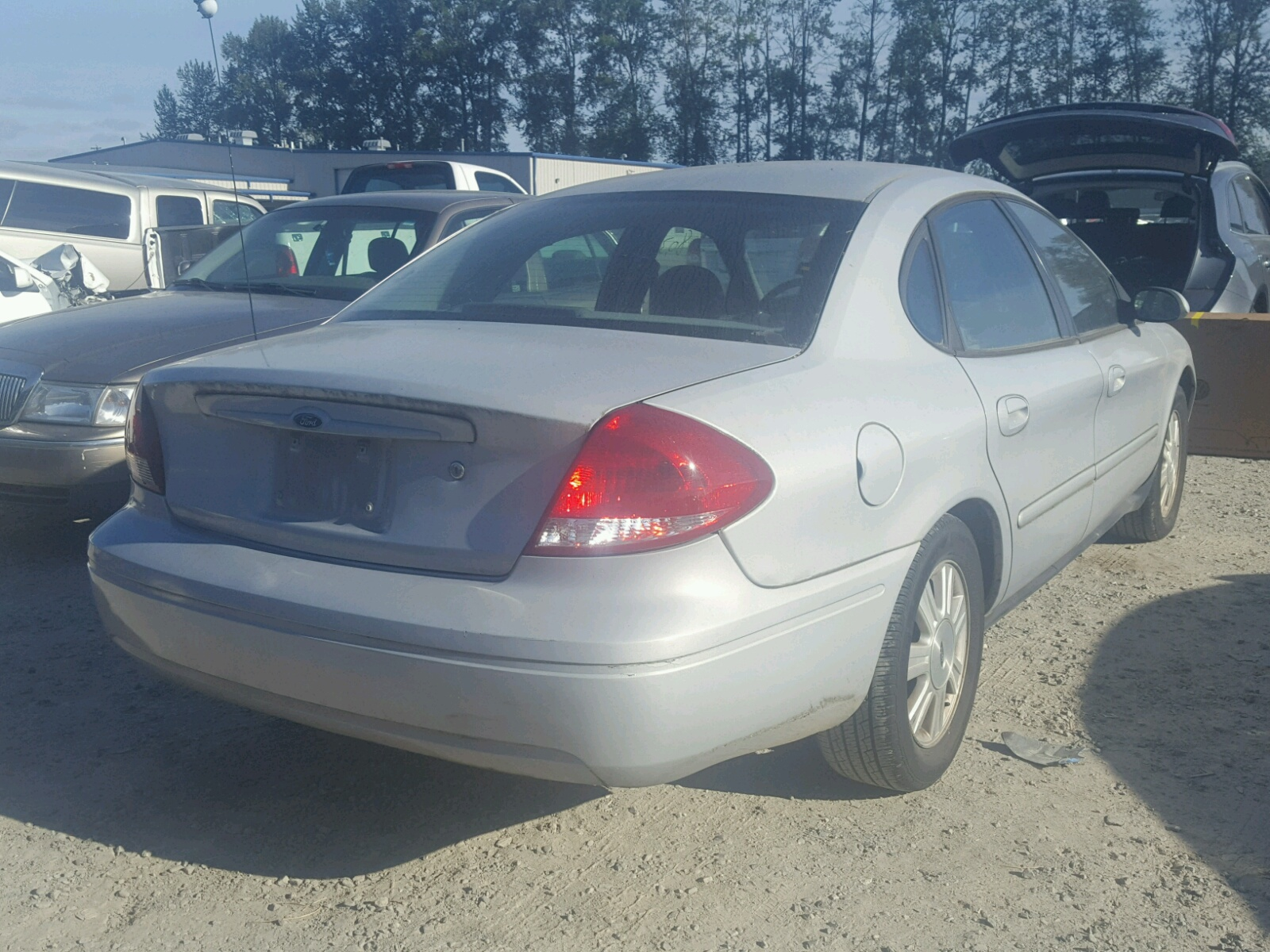 2007 Ford Taurus SEL for sale at Copart Arlington WA Lot