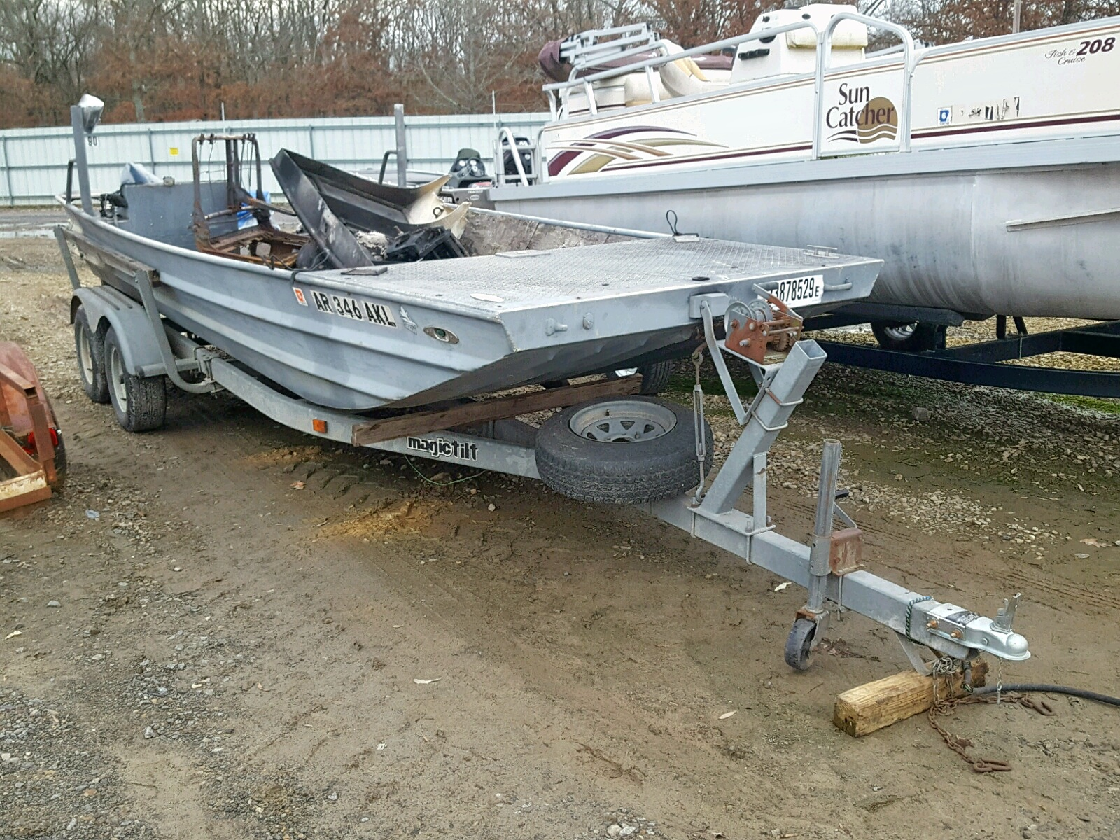 Salvage 1991 Other MARINE TRAILER for sale