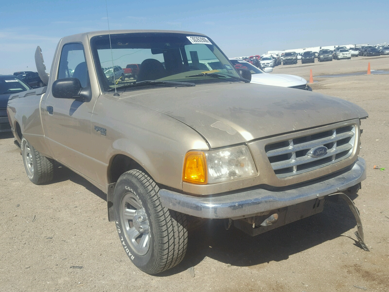 2001 Ford Ranger for sale at Copart Amarillo TX Lot