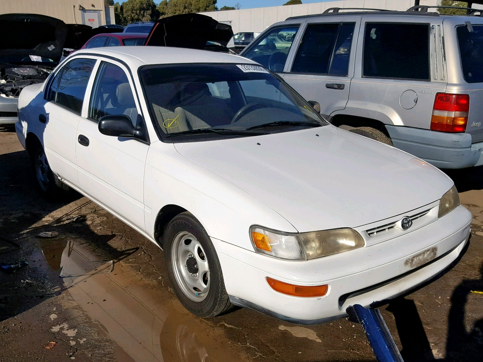 Salvage 1997 Toyota COROLLA BA for sale