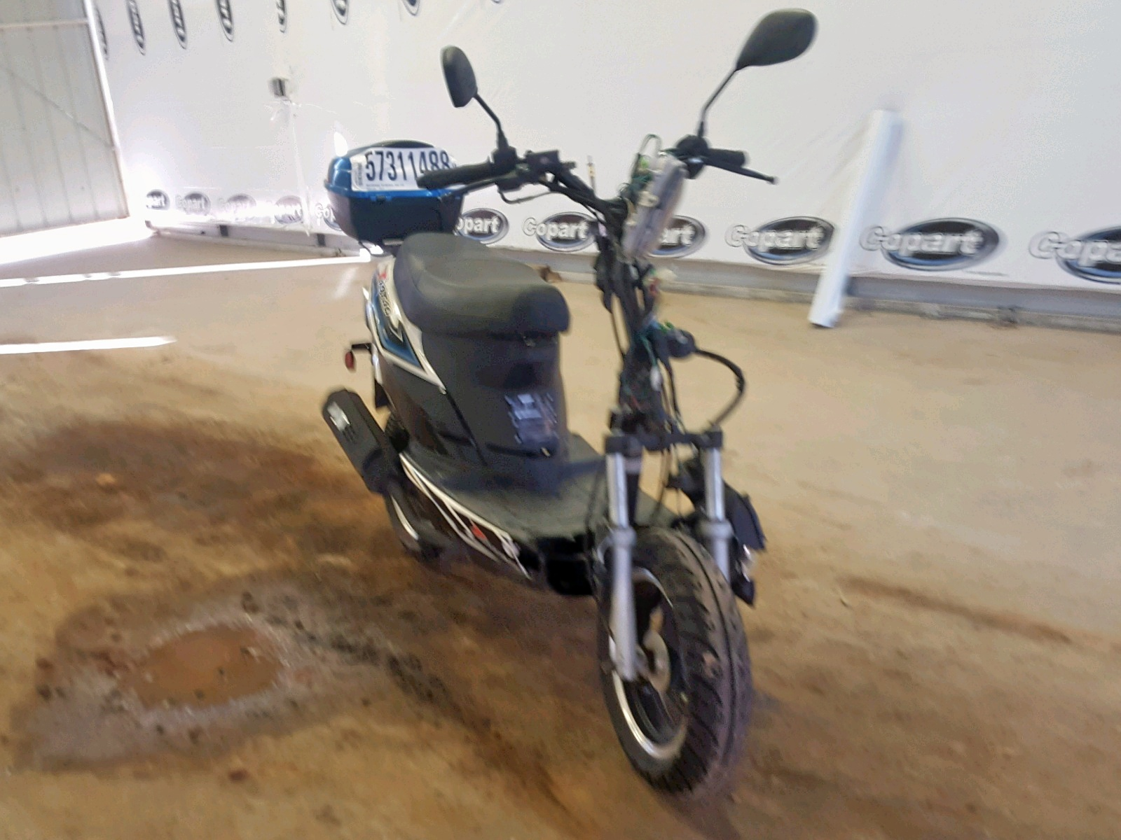 Salvage 2013 Taotao SCOOTER for sale