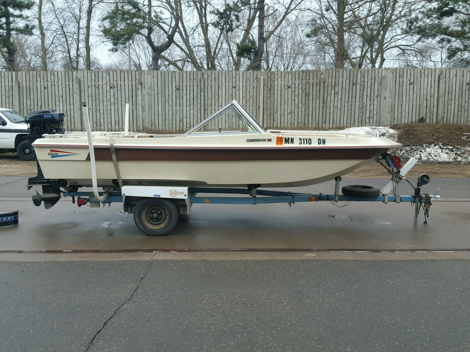 Salvage 1976 Thun BOAT for sale