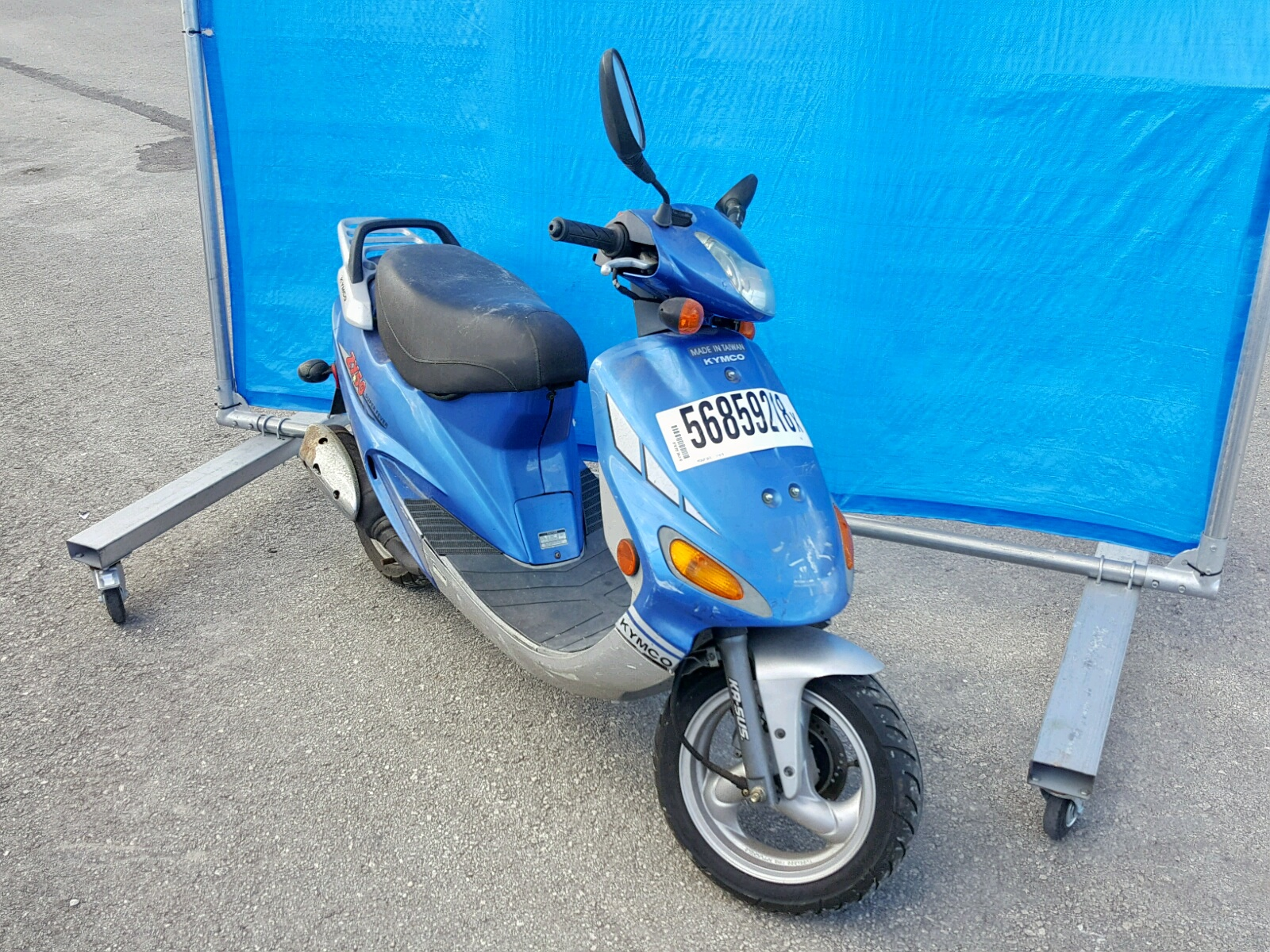 Salvage 2005 Kymco Usa Inc ZX50 for sale