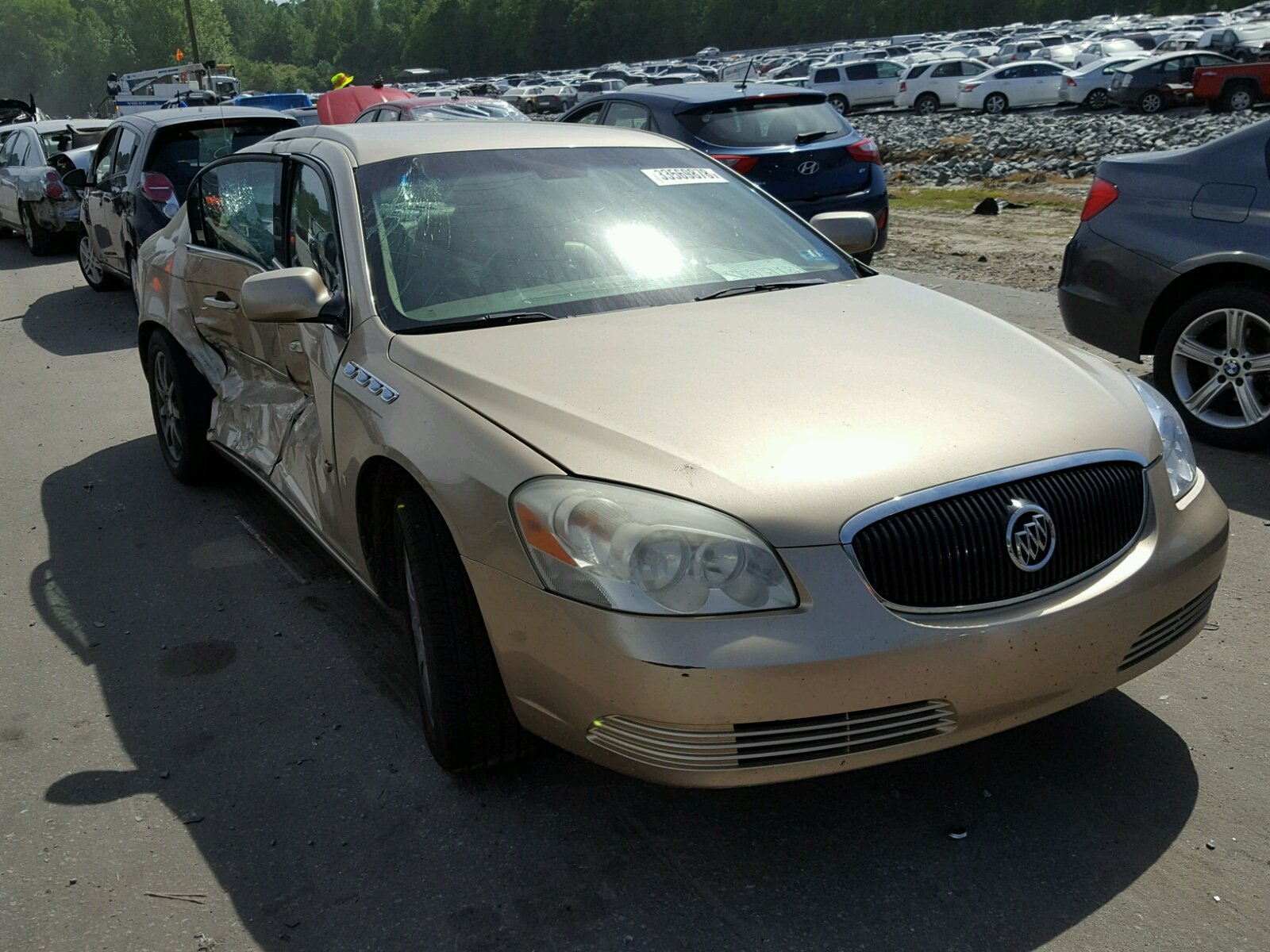Salvage 2006 Buick LUCERNE CX for sale