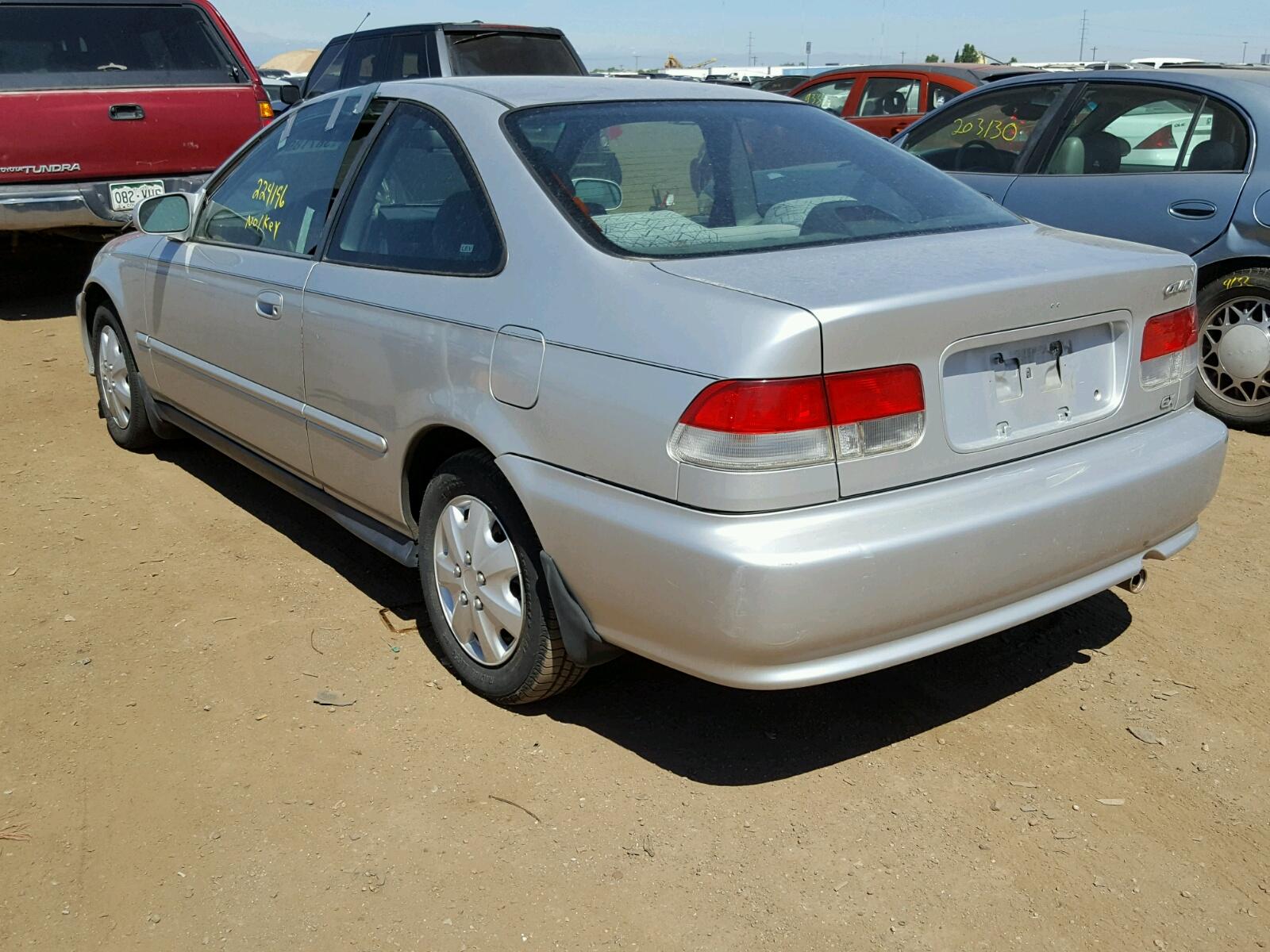1999 Honda Civic Ex 16l 4 In Co Denver 1hgej8243xl012168 For Angle View