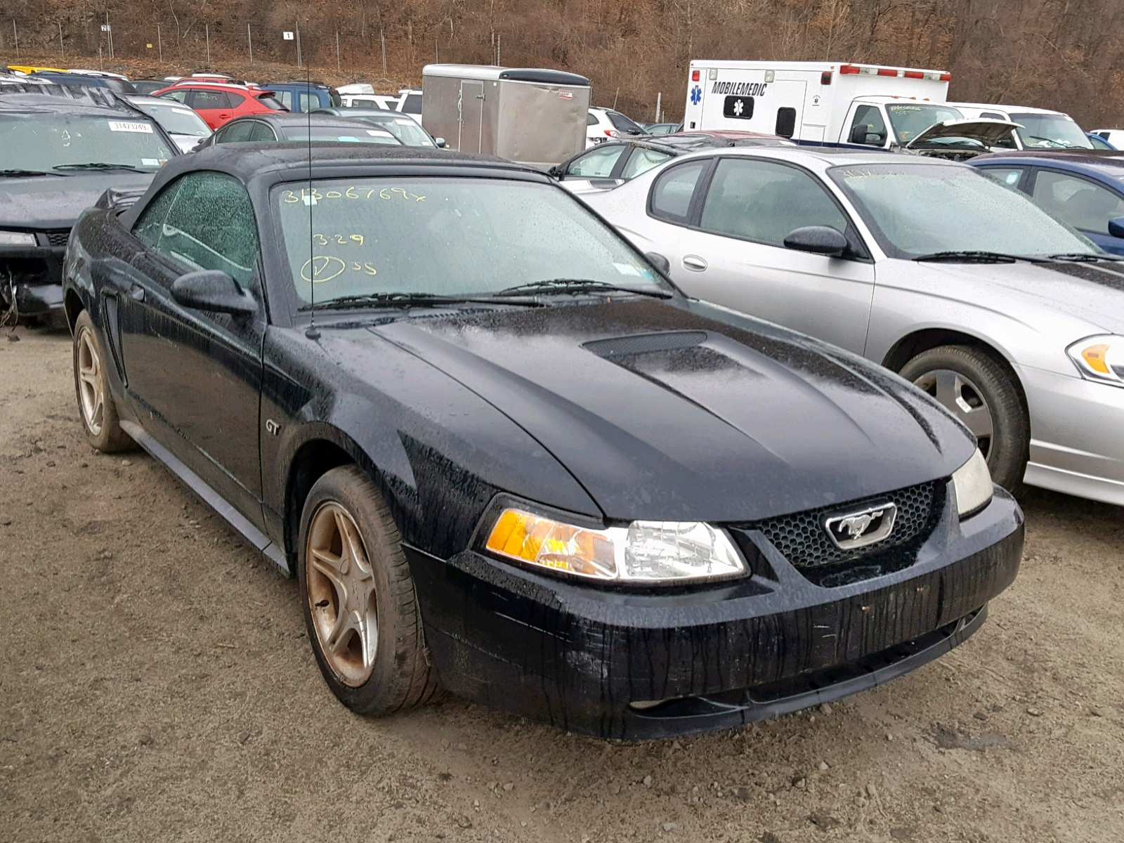 2000 ford mustang gt 4 6l 8 in ny newburgh