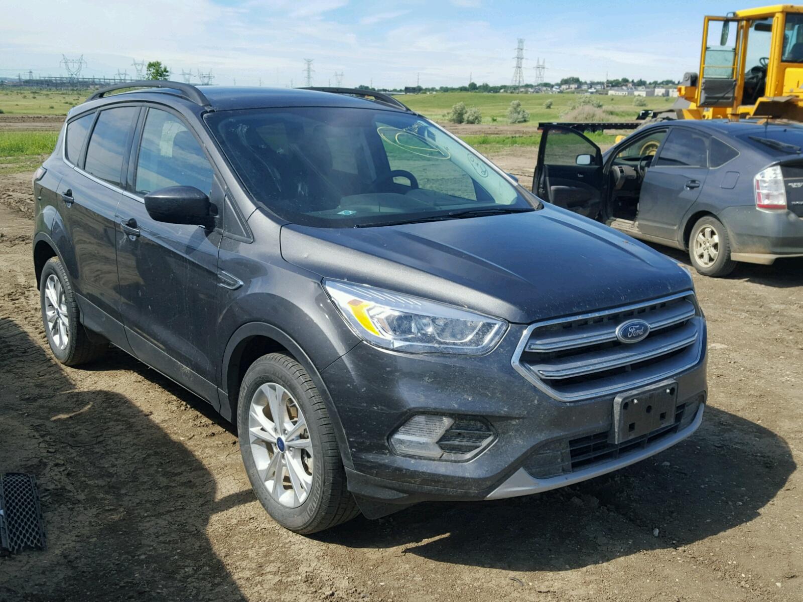 2017 Ford Escape SE for sale at Copart Billings MT Lot