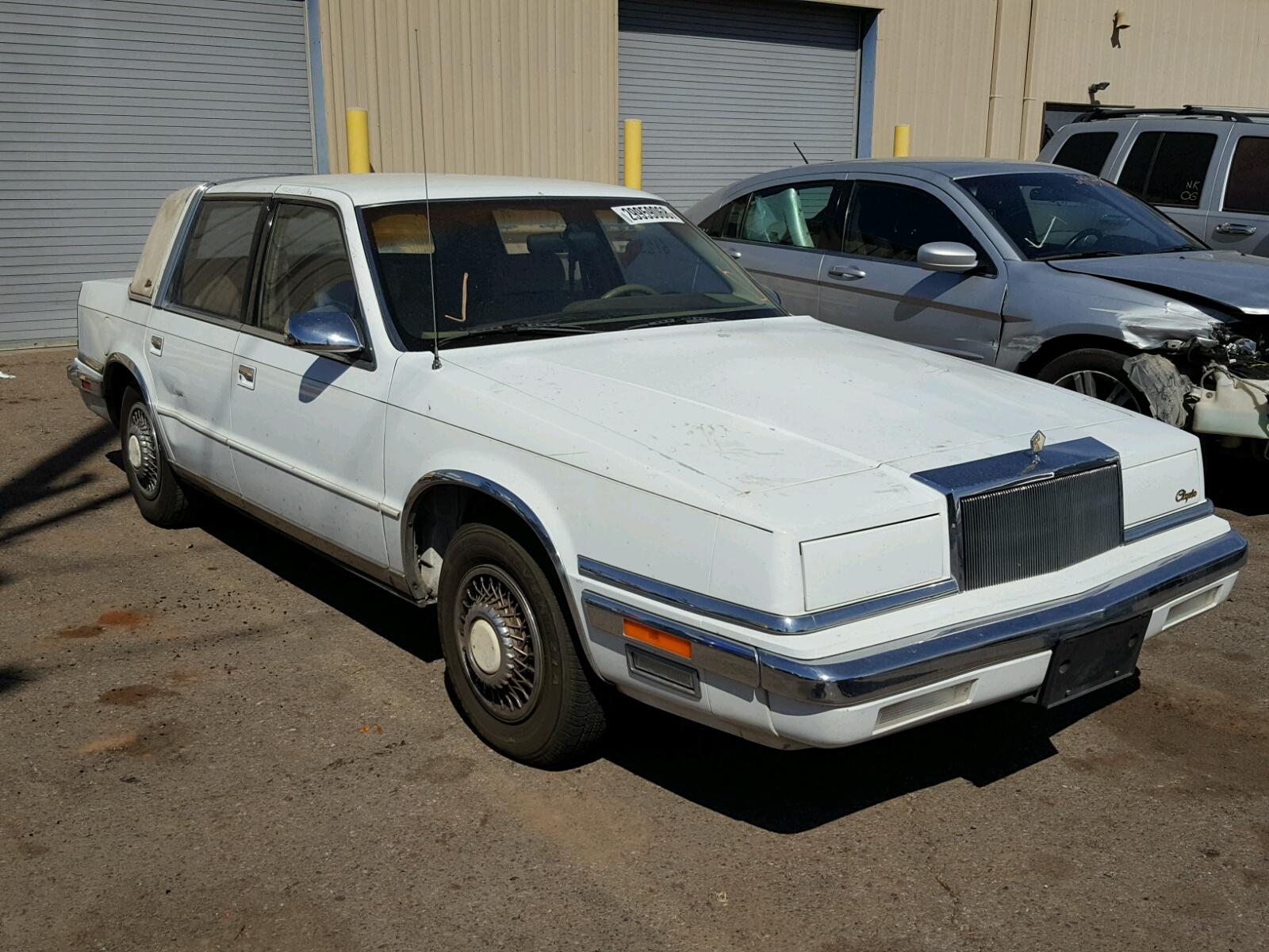 1C3XC66R4LD897081 | 1990 WHITE CHRYSLER NEW YORKER on Sale in AZ ...
