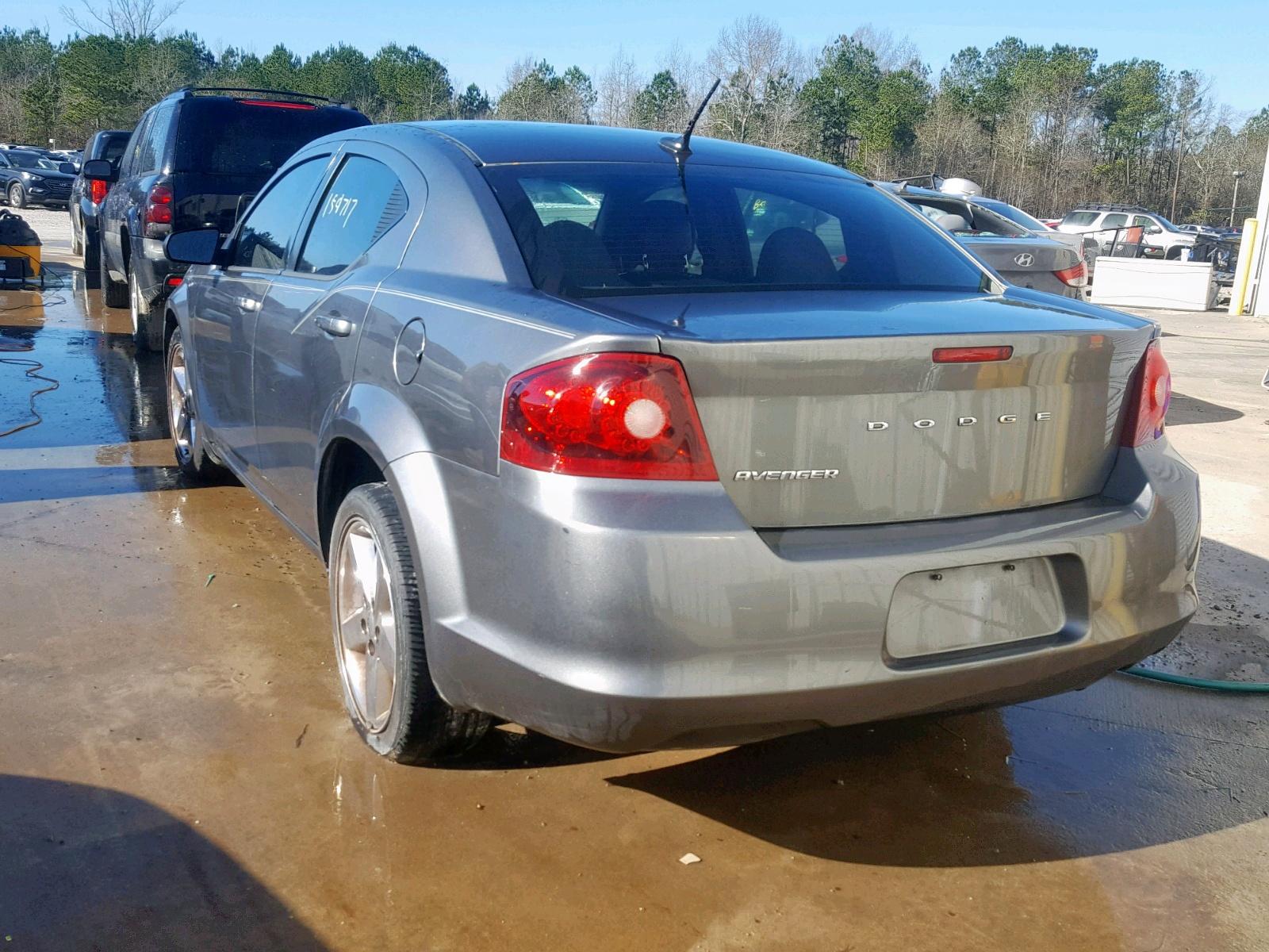 1C3CDZAB9CN148889 - 2012 Dodge Avenger Se 2.4L [Angle] View