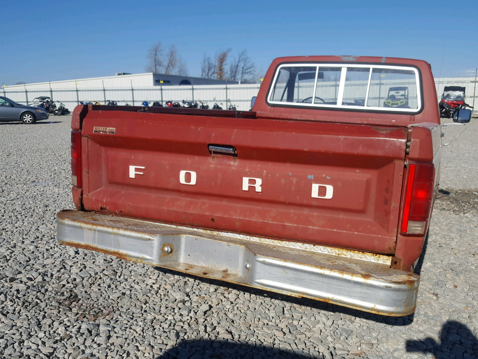 1986 Ford F150 49l 6 In Wi Appleton 1ftcf15y7gpa01289 For Sale F 150 Engine View