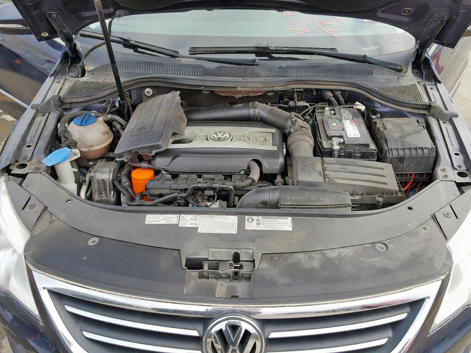 WVWMN7AN3CE521047 - 2012 Volkswagen Cc Sport 2.0L inside view